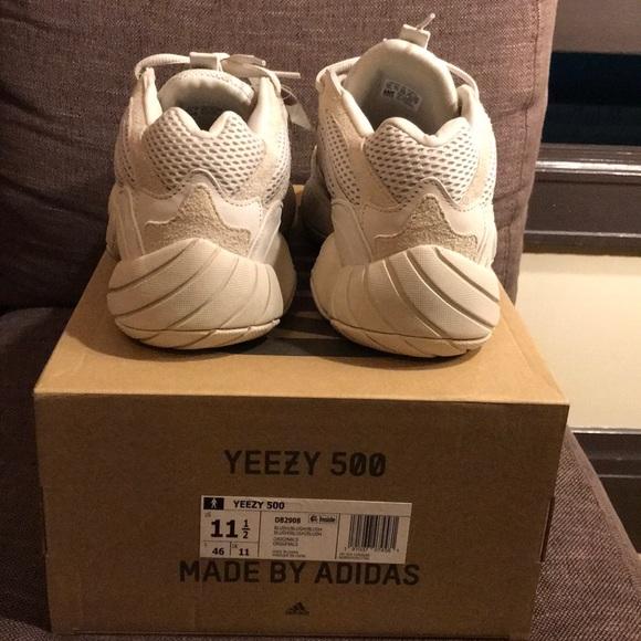 Adidas Yeezy 500 Rødme Størrelse 9 be6jACpu